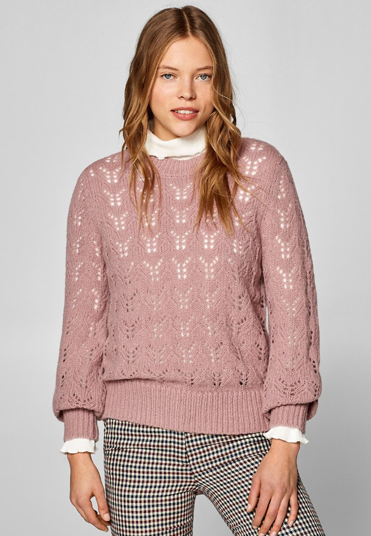 Esprit - Strickpullover - purple