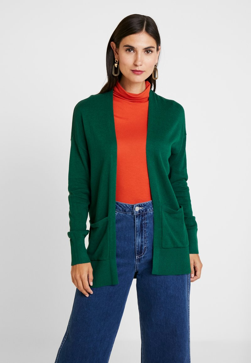 Esprit - CARDI - Cardigan - bottle green