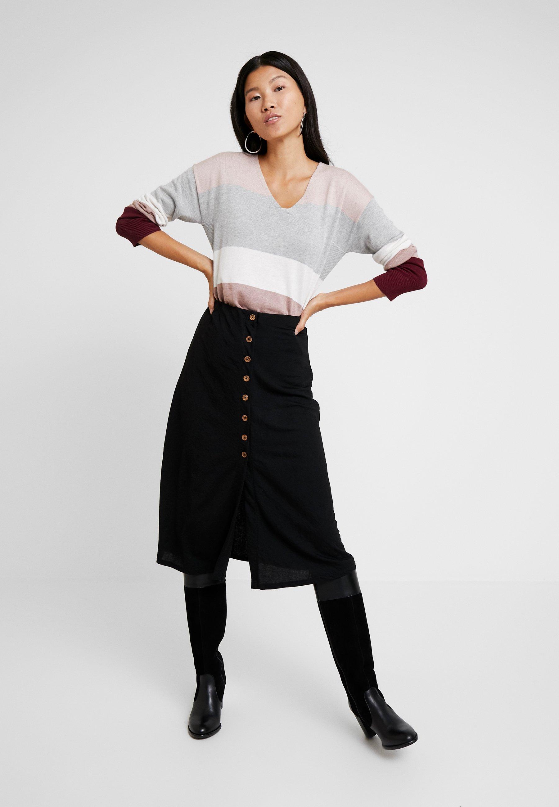 Esprit Sweter - bordeaux red