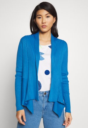 Cardigan - bright blue