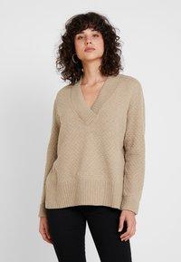 Esprit - Sweter - camel - 0