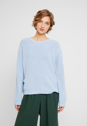 STRUCTURE - Sweter - light blue