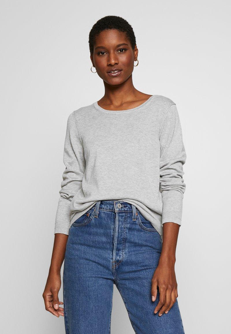 Esprit - Strickpullover - light grey