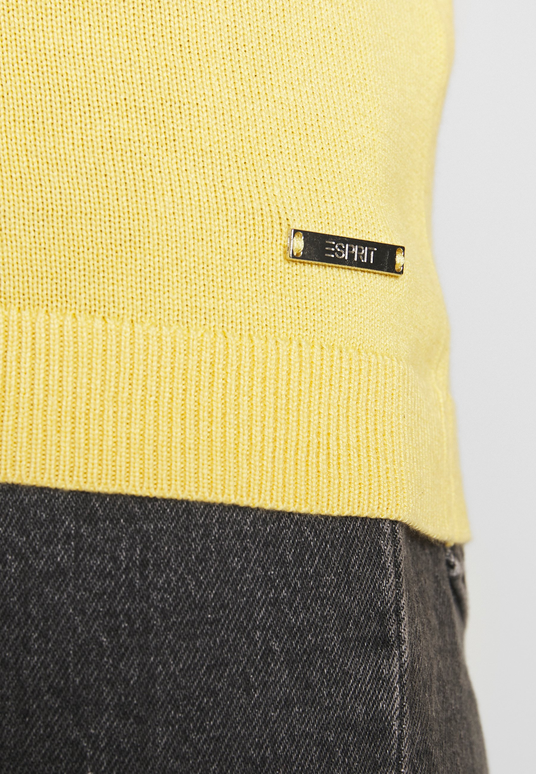 Esprit Sweter - yellow