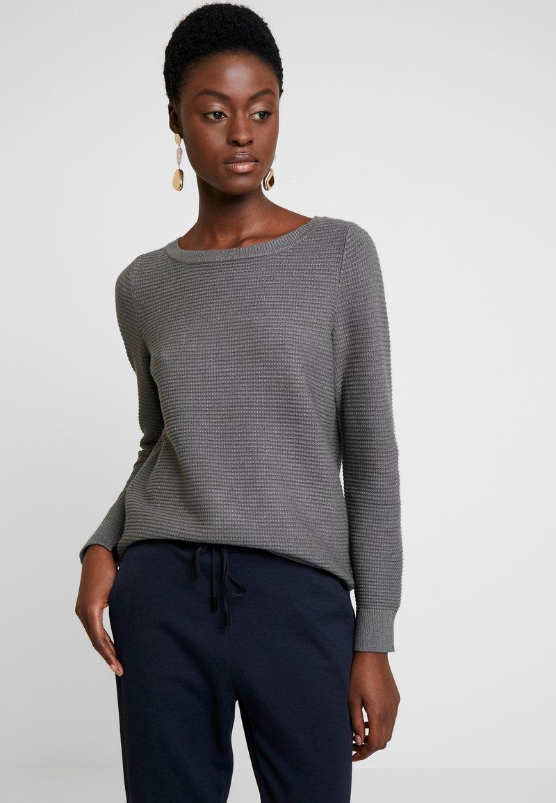 Esprit - OTTOMAN - Jersey de punto - dark grey