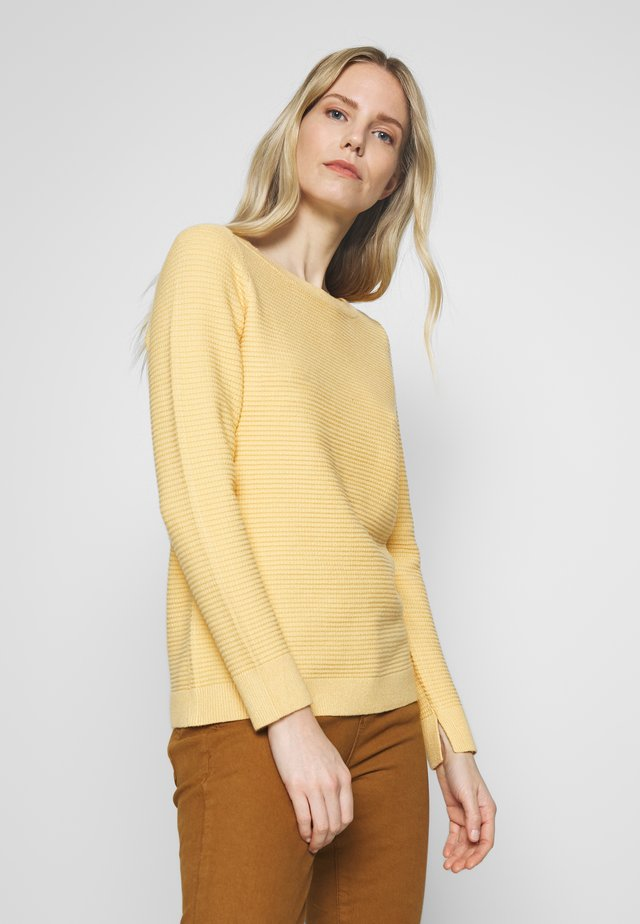 OTTOMAN - Sweter - yellow