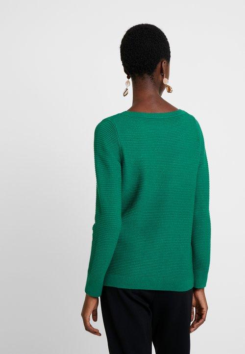tani Esprit OTTOMAN - Sweter - dark green Odzież Damska DFTP-CV2