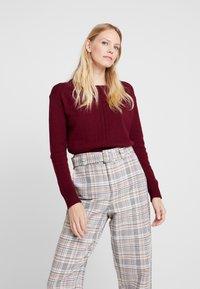 Esprit - Pullover - garnet red - 0