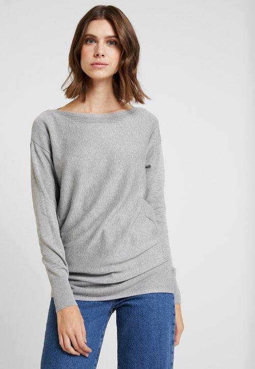 Esprit Sweter - medium grey Odzież Damska PJHG-LE3 w ofercie