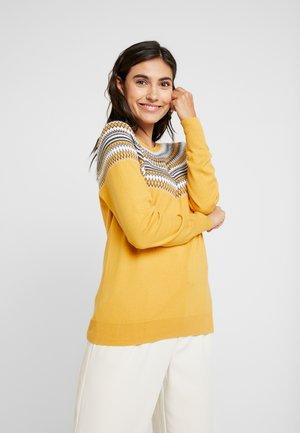 Svetr - honey yellow