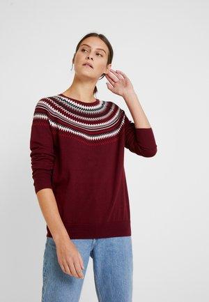 Maglione - bordeaux red