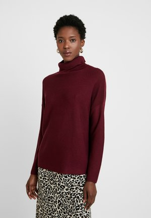 Strickpullover - bordeaux/red