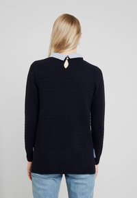 Esprit - SWEATER FABMIX - Maglione - navy - 2