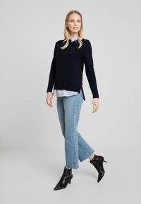 Esprit - SWEATER FABMIX - Maglione - navy - 1