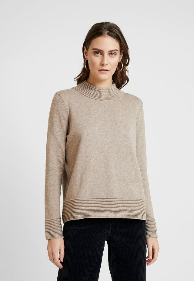 TURTLENECK - Neule - taupe