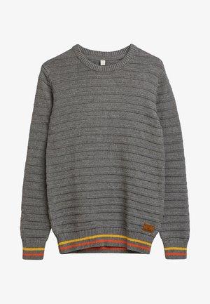 Strikpullover /Striktrøjer - dark heather grey