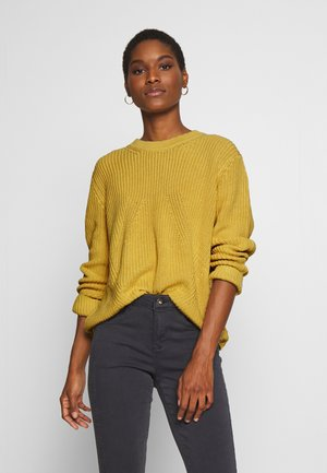 Jersey de punto - dusty yellow