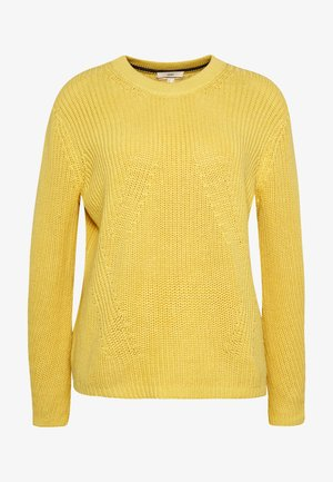 Pullover - dusty yellow