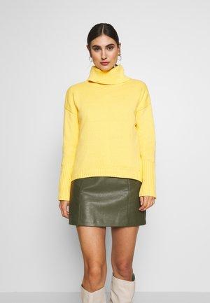 EOS NECK - Jersey de punto - dusty yellow