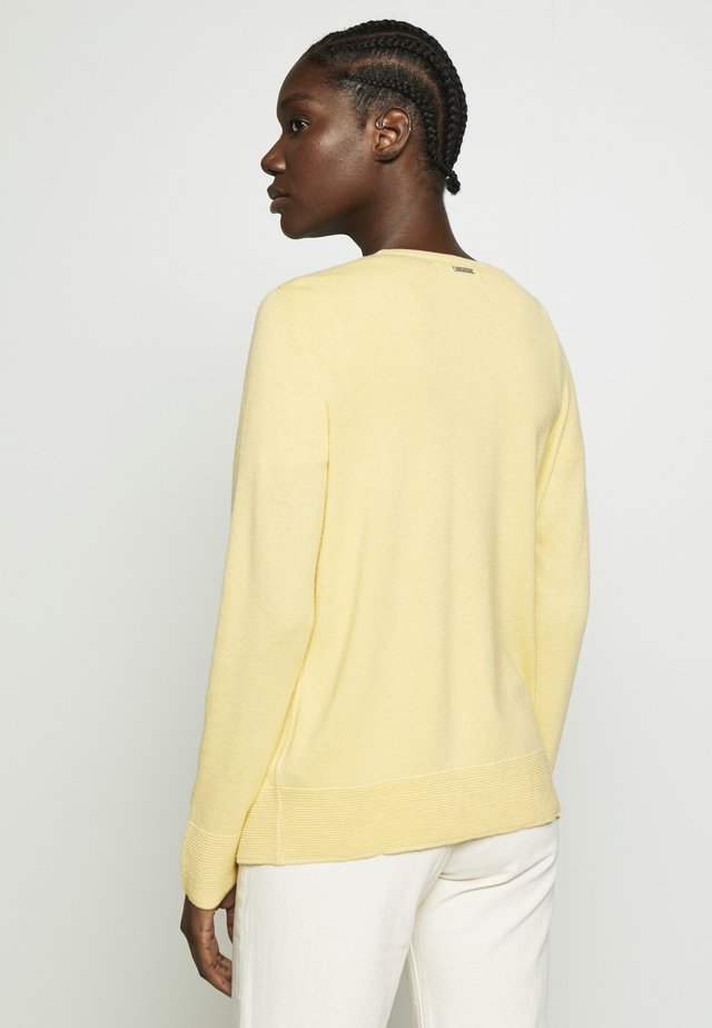 Chaqueta fina - dusty yellow