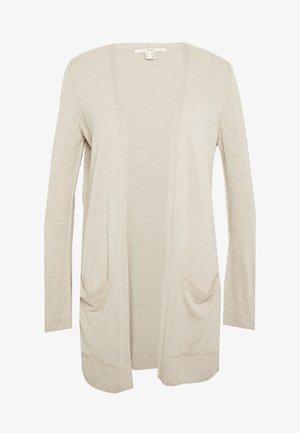 UTILITY FINE - Cardigan - light beige