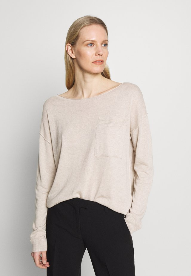 UTILITY  - Sweter - light beige