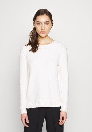 SLUBSEAMING - Strikkegenser - off white