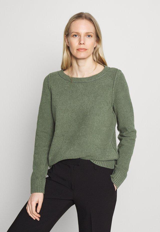 SLUBSEAMING - Jersey de punto - khaki green