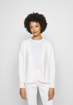 SLUBSEAMING - Cardigan - off white