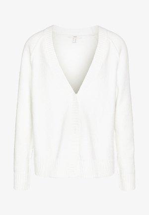SLUBSEAMING - Chaqueta de punto - off white
