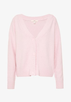 SLUBSEAMING - Cardigan - light pink