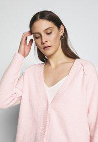 Esprit - SLUBSEAMING - Cardigan - light pink - 3