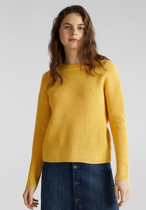 MIT STRUKTUR - Jumper - yellow