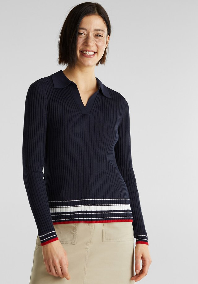 Poloshirts - navy