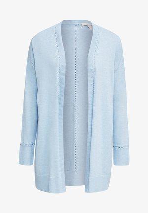 MIT LOCHMUSTER-DETAILS - Vest - light blue