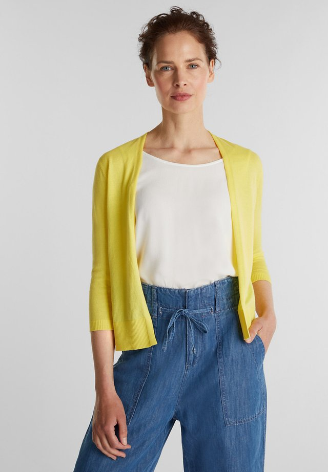 Vest - bright yellow