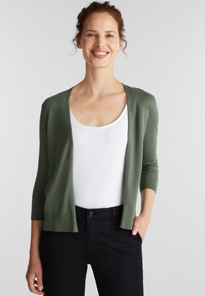 OFFENER - Cardigan - khaki green
