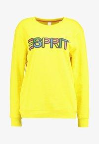 Esprit - PRIDE C&K CAPSULE UNISEX - Sweater - yellow - 4