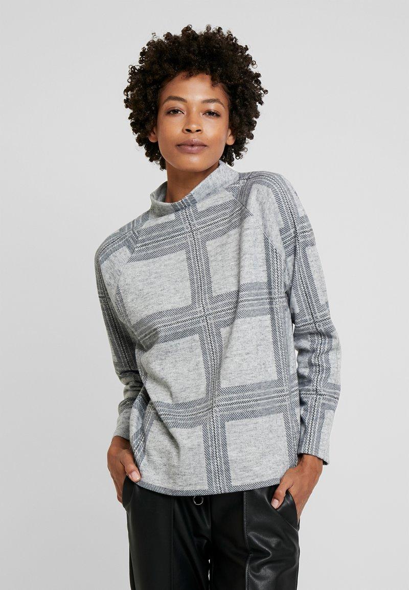 Esprit - TURTLENCK - Sweter - light grey 5