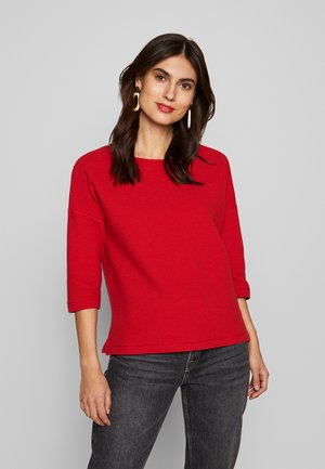 Sweter - dark red
