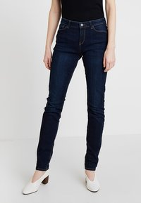 Esprit - Slim fit jeans - blue dark wash - 0