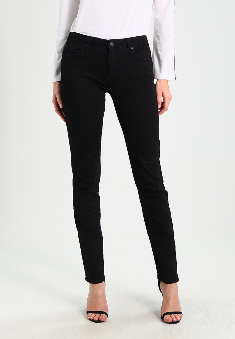 Esprit Jeansy Straight Leg - black