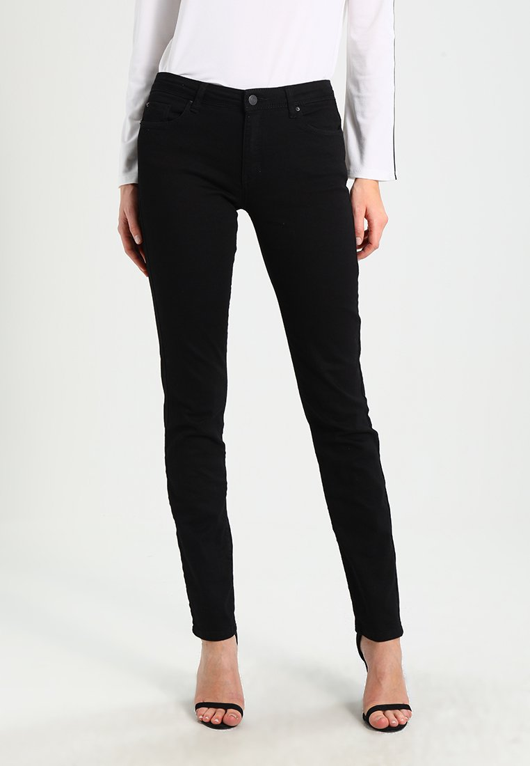Esprit - Jeans Straight Leg - black