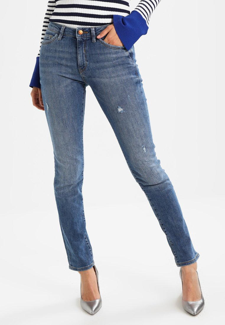 Esprit - Jeans Straight Leg - blue medium wash