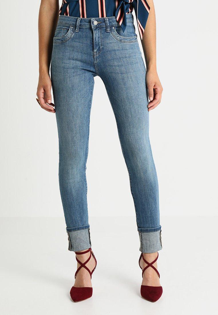 Esprit - BASIC - Slim fit jeans - blue medium