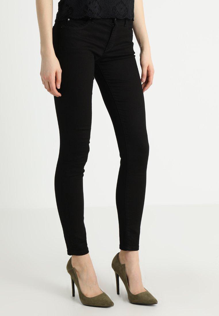 Esprit - Jeansy Slim Fit - black