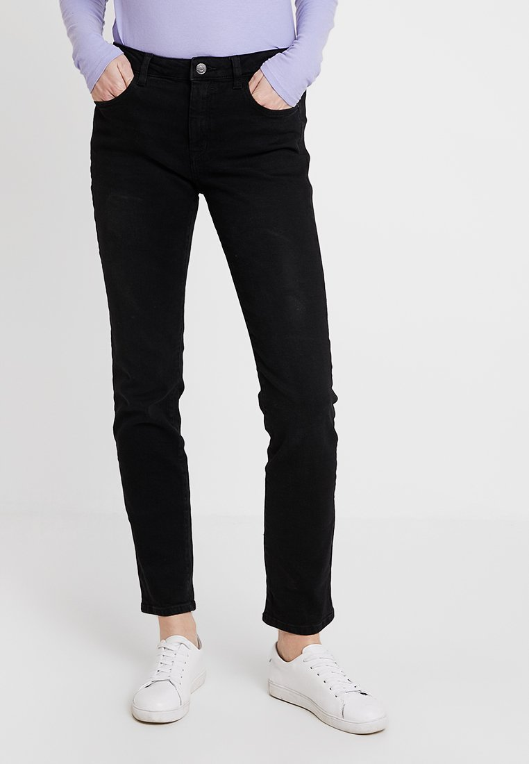 Esprit - Jeans Straight Leg - black dark