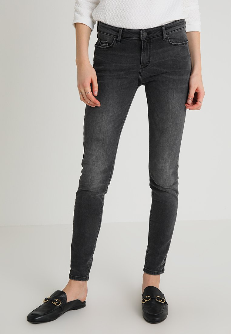 Esprit - Slim fit jeans - grey dark