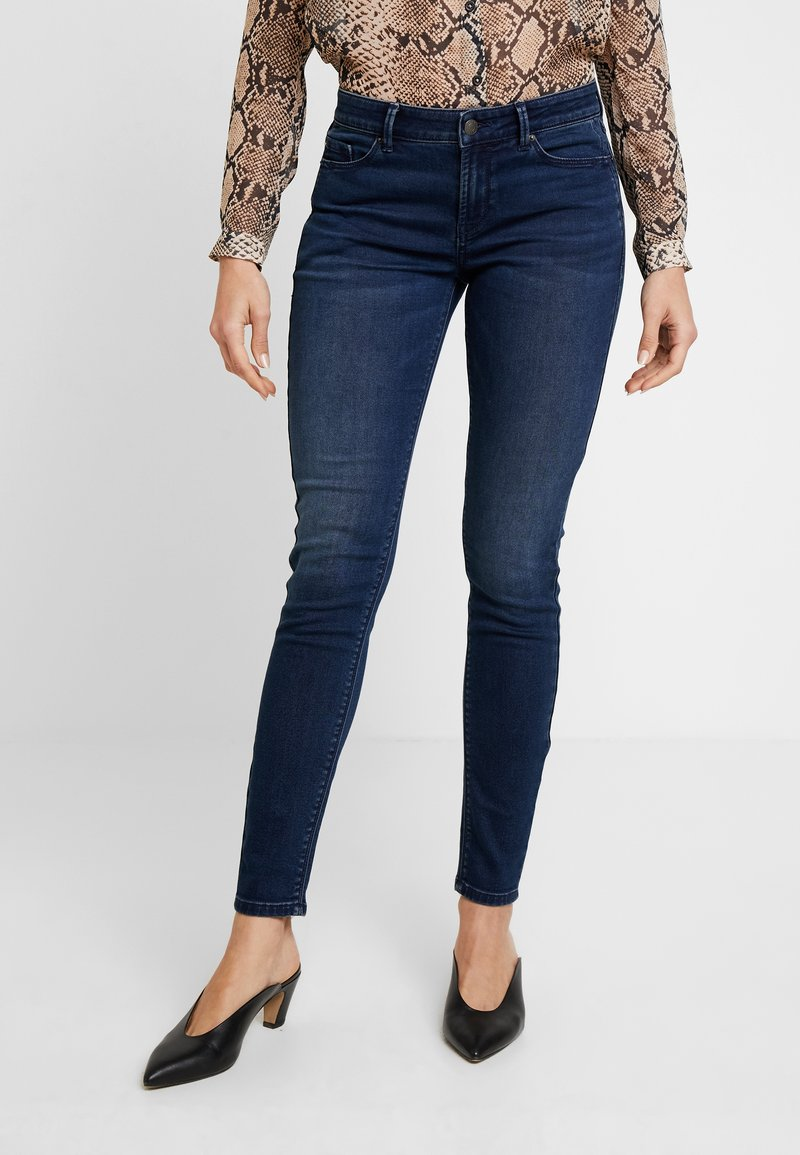 Esprit - Slim fit jeans - blue dark wash