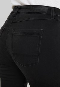 Esprit - Vaqueros pitillo - black dark wash - 3